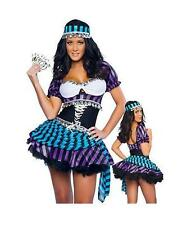 COSTUME DE GYPSY GYPSY GOOD FORTUNE GIPSY COSTUME CARNIVAL HALLOWEEN SEXY 39136