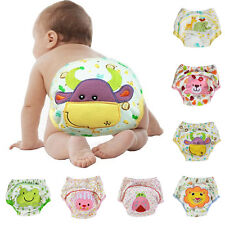 Baby Toilet Pee Potty Training Cloth Diaper Nappy Underwear Wrap Cover Pants