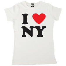 I LOVE NEW YORK WOMENS I HEART NY CLASSIC PRINTED T-SHIRT