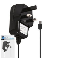 3 Pin 1000 mAh UK MicroUSB Wall Mains Charger for Samsung 335 S3350 Chat Ch@t