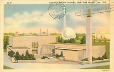 1939 New York World's Fair Postcard Palestine Exhibits El-Hanani Architect