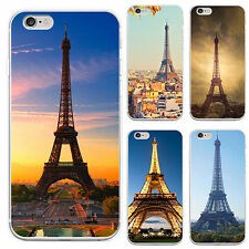 Paris Eiffel Tower Pattern Mobile Phone Case Cover for iPhone 5 6 7 Plus Optimal