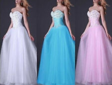 New Ball Formal Party Prom Gown Quinceanera Evening Dresses Bridal Wedding Dress
