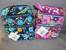 Vera Bradley Mini Hipster Cross Body Purse--Midnight Blues or Flutterby--CHOICE