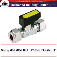 GAS 8MM/15MM MINI BALL VALVE STRAIGHT LEVER ISOLATION,LPG,OIL VALVE COMPRESSION
