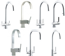 SINGLE LEVER, TWIN LEVER, SINGLE LEVER PULL OUT TAP BRUSHED / CHROME KITCHEN TAP