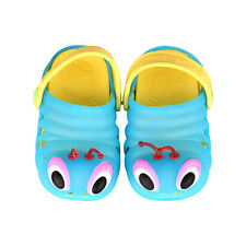 Boy Girl Kid Casual Fashion Cartoon Caterpillar Sandals Flip-Flops Slippers