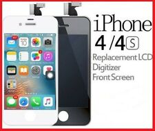 LCD Screen Display Glass Assembly Replacement Digitizer iPhone 4/4S Black White
