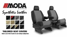 Coverking Synthetic Leather Front Seat Covers for Jeep Compass in Leatherette