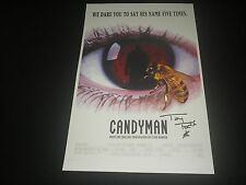 TONY TODD Signed CANDYMAN 11x17 Movie Poster Horror Legend  Autograph