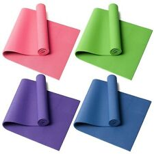 6MM Thick Non-slip Yoga Mat Fitness Gym Exercise Pad Durable 4 Colors