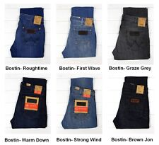 NEW WRANGLER BOSTIN JEANS SLIM STRAIGHT LEG LEE DAREN FIT L30/L32/L34 ALL  SIZES