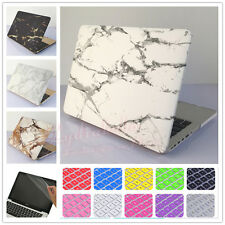 "3in1 Marble Hard Case+Keyboard Cover+LCD Film for MacBook Air Pro 11"" 12""13"" 15"""
