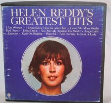 """7"""" Reel Tape- Helen Reddy - Greatest Hits 3.75 IPS Play tested Bx B"""