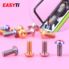 2PCS M5x12mm Titanium  Bottle Holder Bolt Bike Bicycle Water Bottle Cage Screw