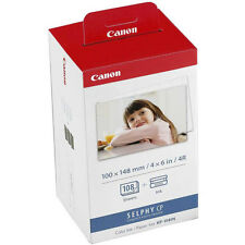 Genuine Canon KP-108IN Ink Cartridge & 4