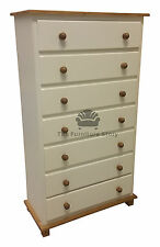 HANDMADE GRANTHAM CHEST OF DRAWERS PAINTED - NO FLATPACK - ASSEMBLED