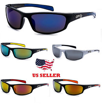 Choppers Sunglasses Men's Motorcycle Wrap Around Biker Shades Fashion Vintage