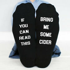 If You Can Read This, Bring Me Some Cider Funny Socks fathers day Birthday gift