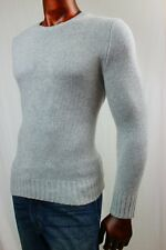 "POLO by Ralph Lauren 100% Cashmere Sweater in ""Rugby Gray"" ~NWT~"