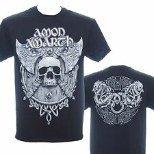 AMON AMARTH - GREY SKULL  - Official T-Shirt - New M L XL