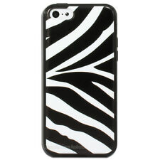 Zebra Black White Hard Back Case Cover for Apple iPhone 5 5S SE 5C