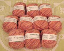 $100 Lot--10 Skeins Crystal Palace Meringue Yarn + Free Gift!