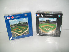 Chicago Cubs Wrigley Field Chicago White Sox U.S. Cellular Field Puzzle--100 PCS