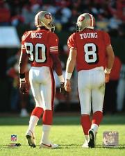 San Francisco 49ers Steve Young/Jerry Rice Football Photofile 8x10 Photo Picture