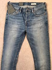 """ALL SAINTS LIGHT BLUE """"ELSWITH CIGARETTE"""" SKINNY FIT JEANS 28"""" 30"""" 32"""" NEW TAGS"""