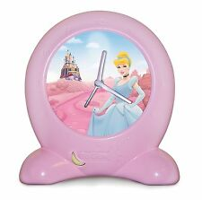 Disney Princess Go Glow Bedtime Trainer Clock Day Night Light Girls Sleep New