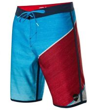 NEW ONEILL board shorts swim HYPERFREAK red blue black 32 34 36 38