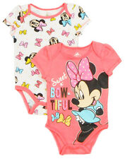 "Disney Newborn Infant Girls Minnie Mouse ""Daddy's Girl"" 2-Piece  Set"