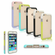 Colorful Hybrid Shock Proof TPU Soft Edge Frame Bumper Case For iPhone 6 6S 4.7""