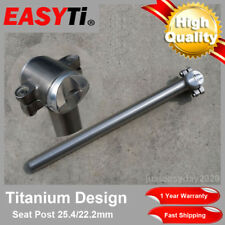 EasyTi Titanium Seatpost 25.4mm/ 22.2mm for Bicycle Road Bike Cycling MTB