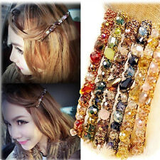2x Women Crystal Rhinestone Barrette Hairpin Hair Clip Accessories Charming