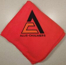 Allis Chalmers Triangle Embroidered Blanket (2 colors)