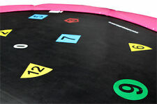 16ft Printed Trampoline Mat (108 Spring) 2 Year Warranty - Free Delivery