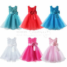 New Baby Girls Kid Princess Tutu Dress Rose Bow Flower Vest Tulle Skirt Dresses