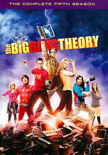 THE BIG BANG THEORY SEASON 5 DVD - THE COMPLETE FIFTH SEASON [3 DISCS] - NEW