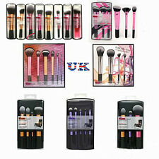 UK Real Techniques Makeup Core Collection Starter Travel Set Kit Powder Brushes