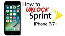 24 HOURS UNLOCK SPRINT/BOOST PREMIUM IPHONE 7/7+ 100% SUCCESS