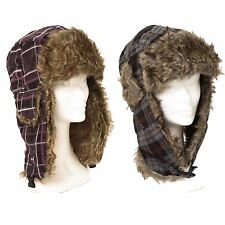 Trapper/Aviator Hat Overcheck With Ear Flap Plugin Buckle
