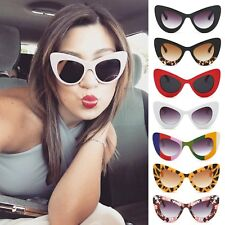 Vintage Style Retro Womens Papillon Designer Fashion Shade Cat Eye Sunglasses