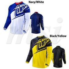 Troy Lee Designs Mens Adult GP Air Jersey Flexion Black/Yellow,Navy/White MX/ATV
