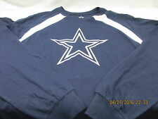 Dallas Cowboys Stitched Team Logo Blue Long Sleeve Tshirt Cowboys Authentic NWT