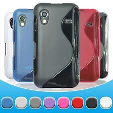 Samsung Galaxy Ace TPU Case Cover S-Style + protective foils