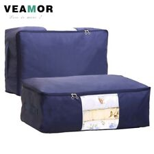 [VEAMOR] Quilt Storage Bags Oxford Luggage Bags S-XXL Home Storage Organizer Wat