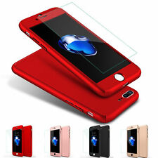 360° Luxury Hybrid Hard Case Cover+Screen Protector For Apple iPhone 6 6S 7 Plus
