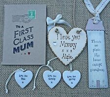 Personalised Mothers Day Plaque Sign Gift Birthday Mum Mummy Nan Nana Gran